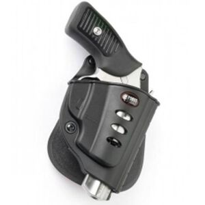 Fobus Evolution Holster Ruger SP101,LCR/Charter Bulldog Right Hand Paddle Attachment Polymer Black