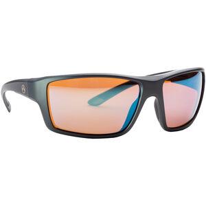 Magpul Summit Shooting Glasses Gray Frame Polarized Anti-Reflective Rose/Blue Mirror Lenses