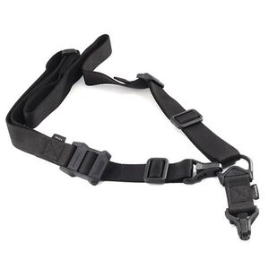 Magpul MS3 Multi-Mission Sling GEN 2 Anti-Chaff Nylon Webbing Para-Clip Adjustment Buckle Black MAG514-BLK