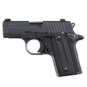 "SIG Sauer P238 Nitron Micro-Compact Semi Auto Pistol .380 ACP 2.7"" Barrel 6 Rounds SIGLITE Sights Polymer Grips Matte Black Finish"
