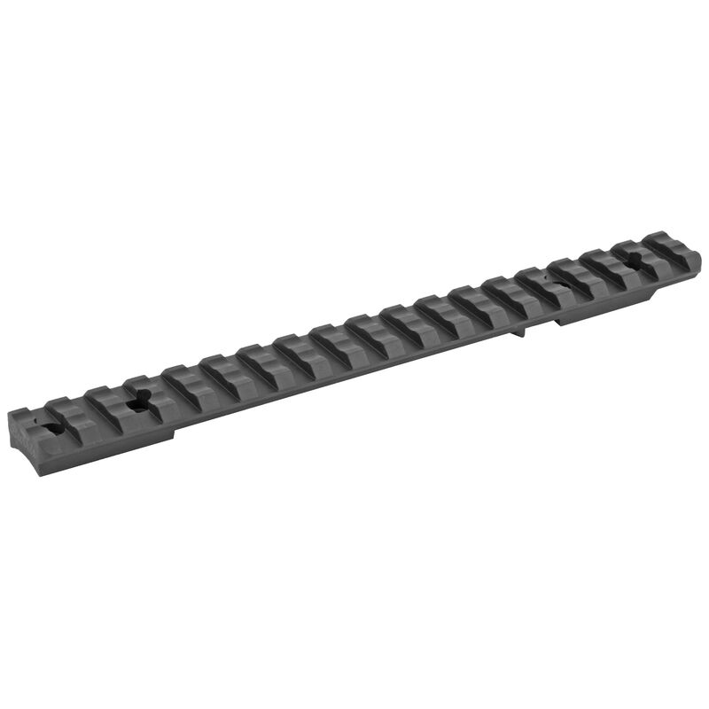 Burris Extreme Tactical 1 Piece Base Savage Round Rear Long Fits Savage LA Weaver/Picatinny Rings Steel Matte Finish