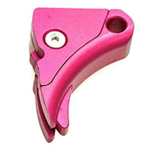 Lone Wolf Ultimate Adjustable Trigger Shoe For GLOCK Aluminum Pink LWD-UAT-A-PINK