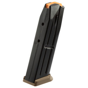 FN Herstal USA FN 509 Full Size 10 Round Magazine 9mm Luger Flat Dark Earth Base Plate Black Finish