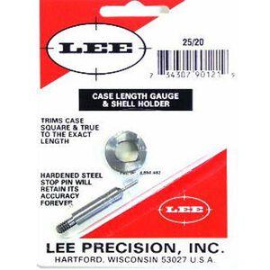 Lee Precision .25-20 Winchester Case Trim Gauge Shell Holder Steel 90121