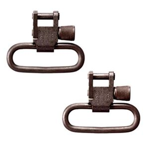 "KNS Precision 1.25"" QD Sling Swivels Pair Black"