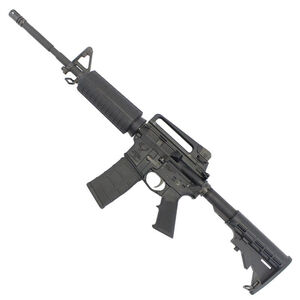 "Stag 15 M4 Series Left Hand AR-15 Semi Auto Rifle 5.56 NATO 16"" Barrel 30 Rounds A2 Front Sight Mil-Spec Furniture Carbine Stock Matte Black Finish"