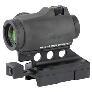 KDG Aimpoint T2 Red Dot Optic/Lower 1/3 Mount Matte Black Finish