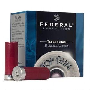 "Federal Top Gun Sporting 12 Gauge Ammunition 2-3/4"" Shell #8 Lead Shot 1 oz 1180 fps"
