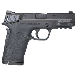 Smith & Wesson M&P 380 Shield EZ, 8 Rounds .380 ACP, Ambi Thumb Safety Black