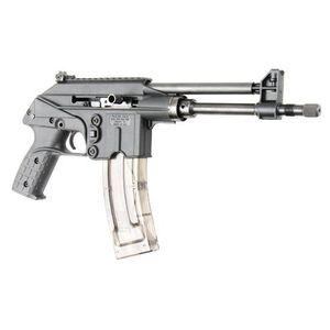 "Kel-Tec PLR-22 .22 Long Rifle Semi Auto Pistol 10.2"" Threaded Barrel 26 Round Magazine Adjustable Sights Steel/Zytel Construction Matte Black Finish"