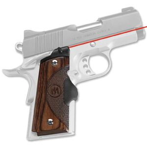 Crimson Trace Lasergrip Master Series 1911 Officer, Compact Walnut LG-909