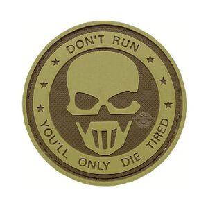 Tru-Spec PVC Morale Patch Don't Run Ghost 6784000