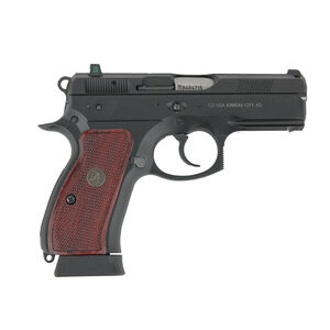 Pachmayr Renegade Wood Laminate Grips CZ75 Compact Checkered Rosewood 63230