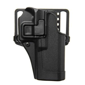 BLACKHAWK! SERPA CQC Concealment OWB Paddle/Belt Loop Holster GLOCK 17/22/31 Right Hand Polymer Matte Black Finish