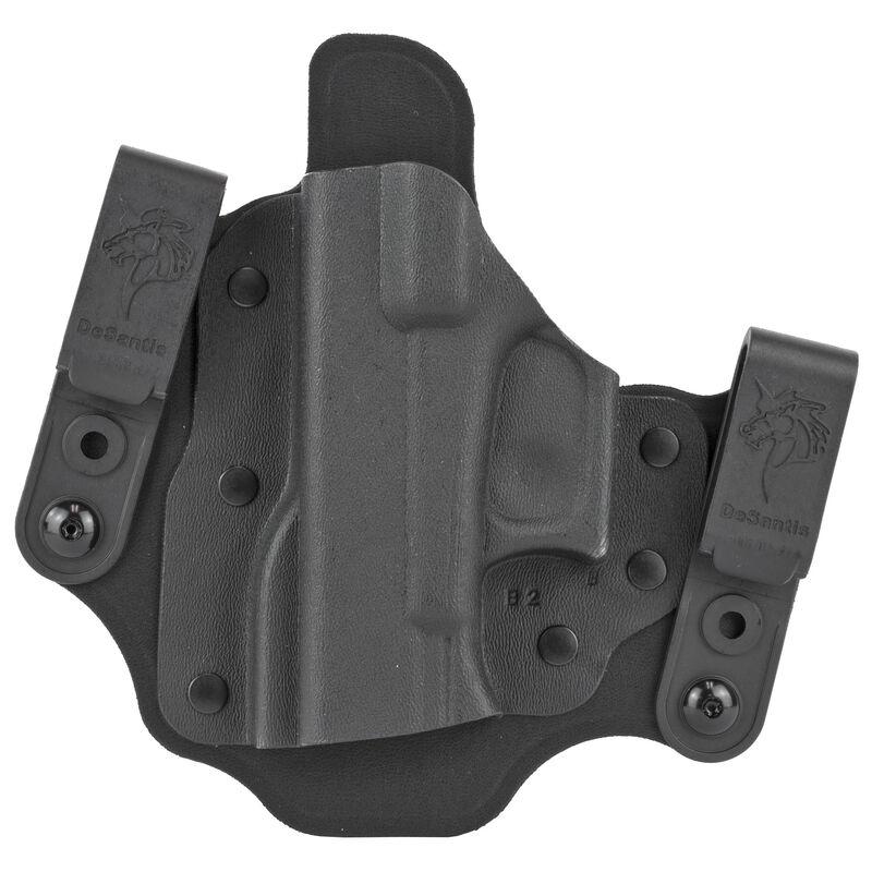 DeSantis Intruder 2 0 Holster IWB/OWB Fits Glock 17,19,19X,20,21,22,23 Left  Hand Kydex Black