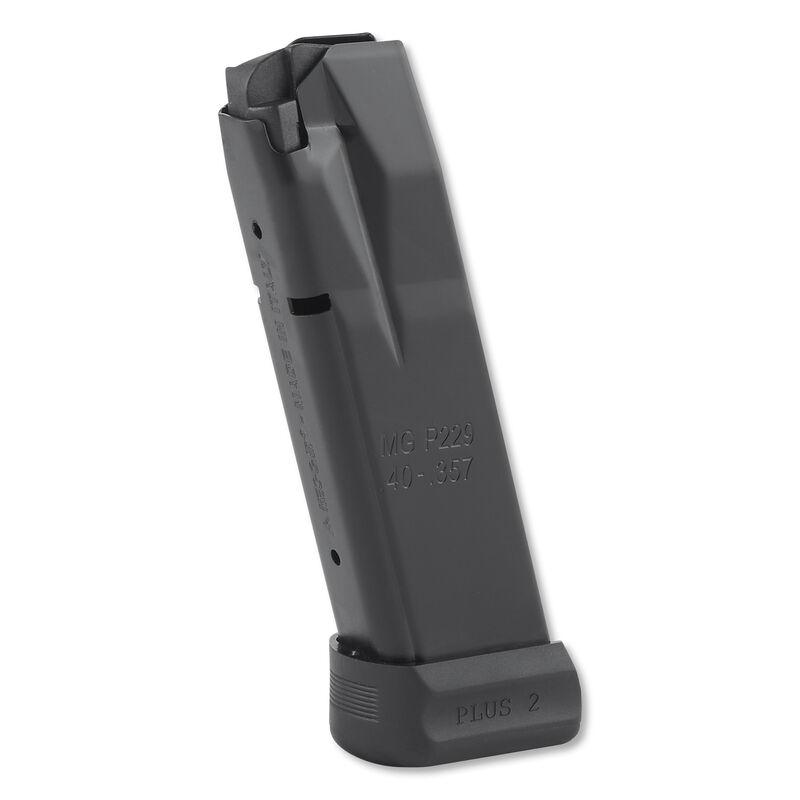 Mec-Gar SIG Sauer P229 Magazine  40 S&W 14 Rounds Steel Black MGP2294014AFC