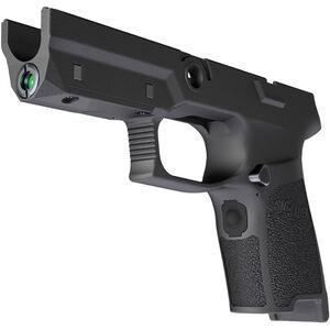 SIG Sauer LIMA5 P320/P250 Compact Green Laser Grip Module 9mm/.40/.357 OEM Frame Medium Grip Polymer Black