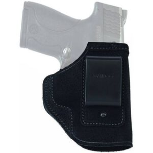 Galco Stow-N-Go IWB Holster S&W M&P Compact 9/40 Right Hand Leather Black STO474B