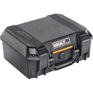 """Pelican V200 Vault Medium Pistol Case 14""""x10""""x5.5"""" Polymer Matte Black"""