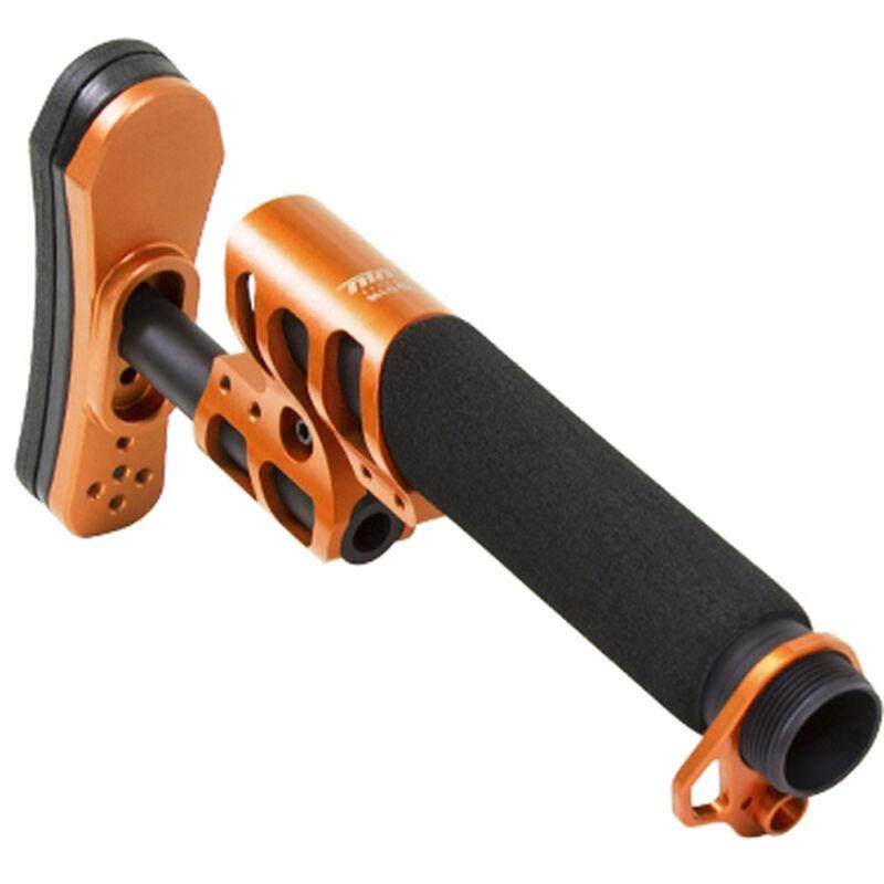 ODIN Works Zulu Adjustable Stock with Buffer Tube and Back Plate Orange