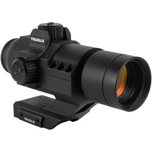 TRUGLO Ignite Mini Compact 30mm Red-Dot Sight 2 MOA Dot AAA Battery Black Finish