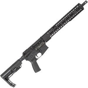 "Radical Firearms AR-15 SOCOM Semi Auto Rifle 5.56 NATO 30 Rounds 16"" Barrel 15"" Free Float MHR Handguard Collapsible Stock Black"