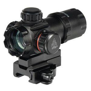 "Leapers UTG ITA Red/Green Dot Sight 3.9"" 4 MOA Dot QD Mount Flip Open Lens Caps SCP- DS3039W"
