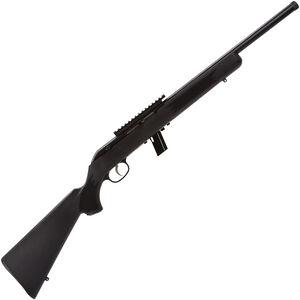 "Savage Model 64 FV-SR .22 LR Semi Auto Rimfire Rifle 16.5"" Threaded Barrel 10 Rounds with One Piece Scope Rail Black Synthetic Stock Blued Finish"