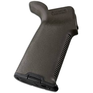 Magpul MOE+ AR-15 Grip Overmolded Polymer Olive Drab Green MAG416-ODG
