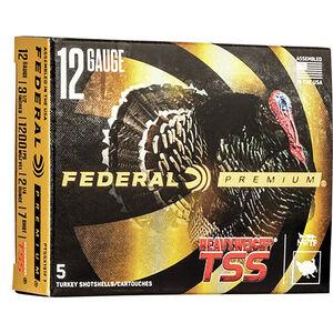 """Federal HEAVYWEIGHT TSS 12 Gauge Ammunition 3-1/2"""" Shell #7 Tungsten Shot 2-1/4 Ounce 1200fps"""