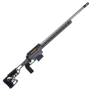 """Savage Firearms 110 Elite Precision .308 Winchester Bolt Action Rifle 26"""" Barrel 10 Rounds Magazine MDT ACC Chassis Cerakote Grey"""