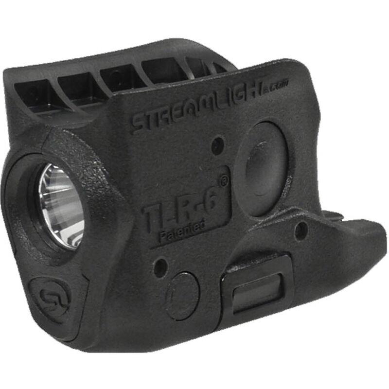 Streamlight TLR-6 GLOCK 43/42 Trigger Guard Mount 100 Lumen LED CR-1/3N Polymer Black