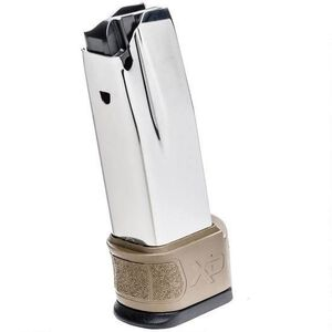 Springfield Armory XD MOD.2 Sub-Compact Magazine .40 S&W 10 Rounds with Grip Zone X-Tension Stainless Steel FDE XDG0940FDE