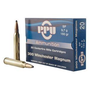 Prvi Partizan PPU .300 Winchester Magnum Ammunition 20 Rounds 150 Grain Soft Point 3248fps
