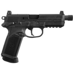 "FN FNX-45 Tactical Semi Auto Pistol 45 ACP 5.3"" Threaded Barrel 10 Rounds Polymer Frame Black"