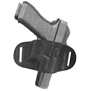 Tagua Extra Protection GLOCK 17, 22, 31 Belt Slide Holster Right Hand Leather Black