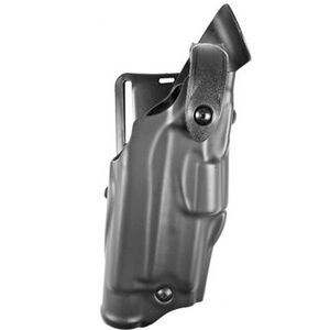 "Safariland 6360 ALS Level III Retention Duty Holster Right Hand GLOCK 19, 23 with ITI M3, TRL-1, SureFire X2000/X3000 and 4"" Barrel Plain Finish Black 6360-2832-61"