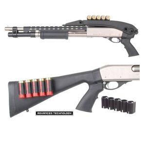 ATI Universal Shotshell Holder Black Polymer Nylon Holds 5 Shells Screws Included No Gunsmithing Required