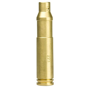 NcSTAR Red Laser Cartridge Bore Sighter .233 Remington/5.56 NATO Brass