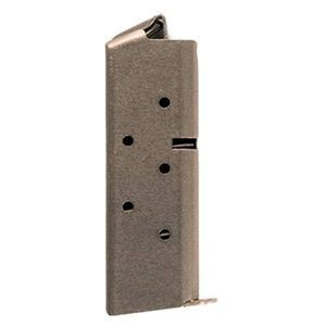 Colt Mustang 6 Round Magazine .380 ACP Stainless Steel
