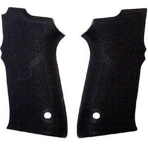 Hogue Grip Panels S&W 5900 Series Cobblestone Rubber Black 40010