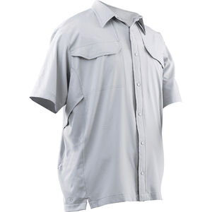 Tru-Spec 24-7 Series Cool Camp Shirt Polyester Spandex Medium Arctic Grey