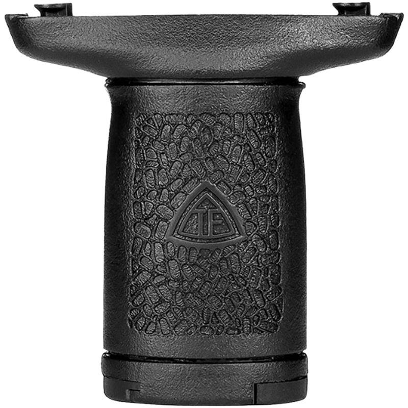 Trinity Force AR-15 Slim Vert Grip Keymod Vertical Forward Grip with Storage Polymer Black