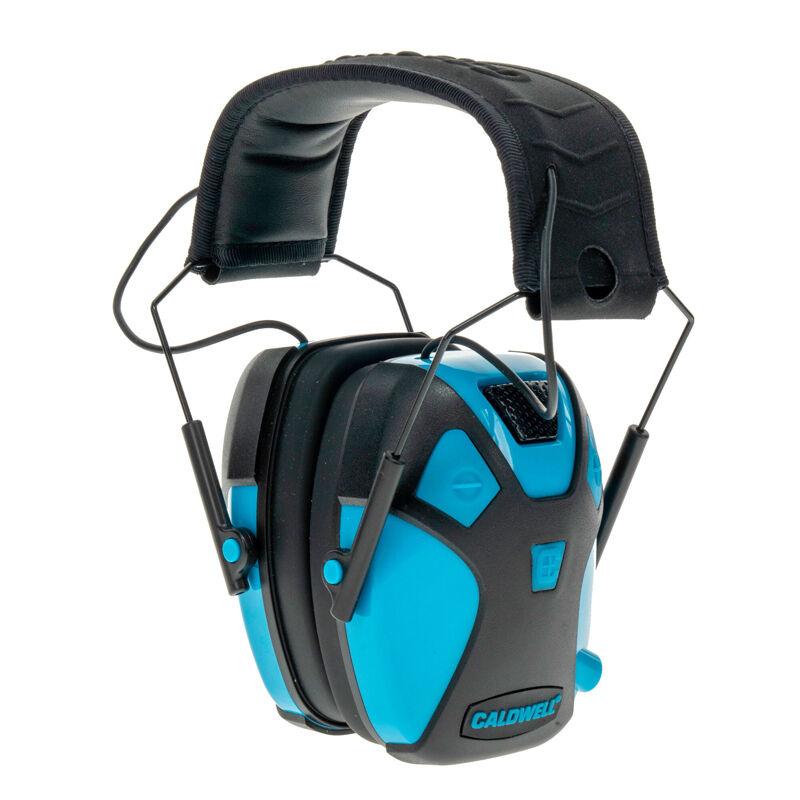 Caldwell E-Max Pro Youth Electronic Earmuffs 23dB NRR Neon Blue 1099602