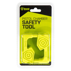 GSM Outdoor/SME Small Chamber Safety Flag Polymer Green 6 Pack
