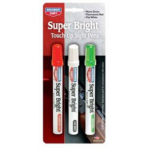 Birchwood Casey Super Bright Pens Sight Touch Up Markers 3 Colors