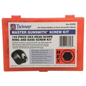 Pachmayr Master Gunsmith Hex Head Ring And Base Screw Kit 03058