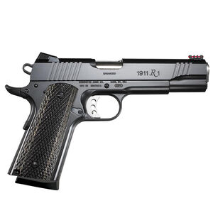 "Remington 1911 R1 Enhanced Semi Automatic Pistol 9mm Luger 5"" Barrel 9 Rounds Wood Laminate Grips Satin Black Oxide Finish 96364"