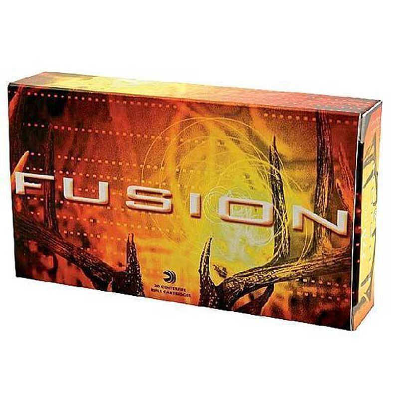 Federal Fusion .270 Winchester Ammunition 20 Rounds Bonded SPTZ BT 130 Grains F270FS1