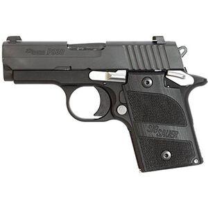 "SIG Sauer P938 Nightmare Semi Automatic Pistol 9mm Luger 3"" Barrel 6 Round Capacity Blackwood Custom Grips Nitron Finish 938-9-NMR-AMBI"